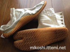 祭り用の足袋2