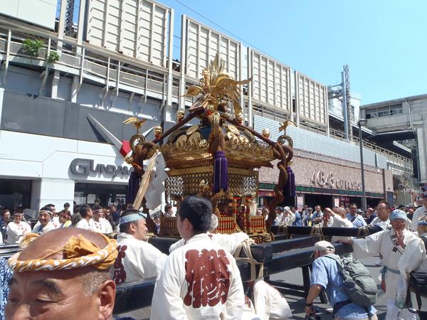 神田神輿 市場半纏の神輿