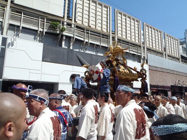 神田神輿 市場神輿の大きさ