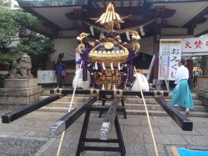 蒲田八幡神社の宮神輿