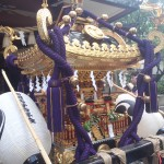蒲田八幡神社の宮神輿(接写2)