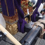 蒲田八幡神社の宮神輿(接写3)