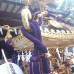 蒲田八幡神社の宮神輿(接写1)