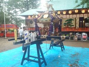 野沢稲荷神社の神輿1