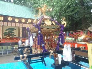 野沢稲荷神社の神輿2