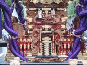 野沢稲荷神社の神輿(接写)