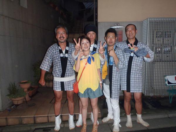 野沢稲荷神社2013 みんなで写真
