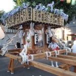 塚越御嶽神社の神輿6(斜め45度から)