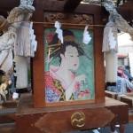 塚越御嶽神社の神輿5(本体サイドのアップ)