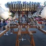 塚越御嶽神社の神輿4(正面から)