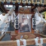 塚越御嶽神社の神輿2(本体アップ)