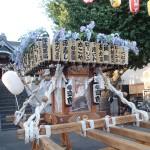 塚越御嶽神社の神輿1