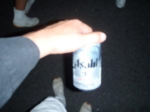 ビールの小さい缶