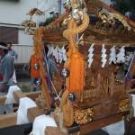 荏原五丁目 豪龍曾の神輿4(斜めから)