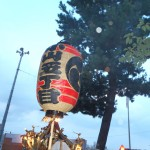 小山五丁目町会 「五友曾」の高張提灯