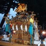 小山五丁目町会 「五友曾」の神輿(横から)