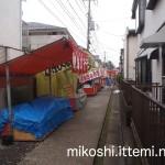 伊富・久富稲荷神社の長い参道1