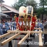 伊富・久富稲荷神社例大祭 大人神輿1