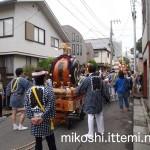 伊富・久富稲荷神社例大祭 山車