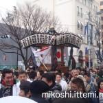 奉祝パレードの神輿1