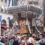 奉祝パレードの神輿4