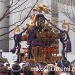 奉祝パレードの神輿10