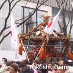 奉祝パレードの神輿11