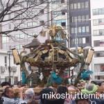 奉祝パレードの神輿14