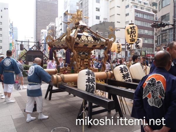 増上寺熊野神社神輿