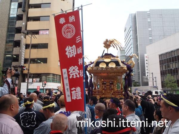 三崎神社の宮神輿