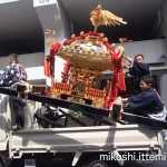 湯島天満宮例大祭 本社神輿渡御3