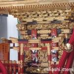 湯島天満宮例大祭 本社神輿(アップ)
