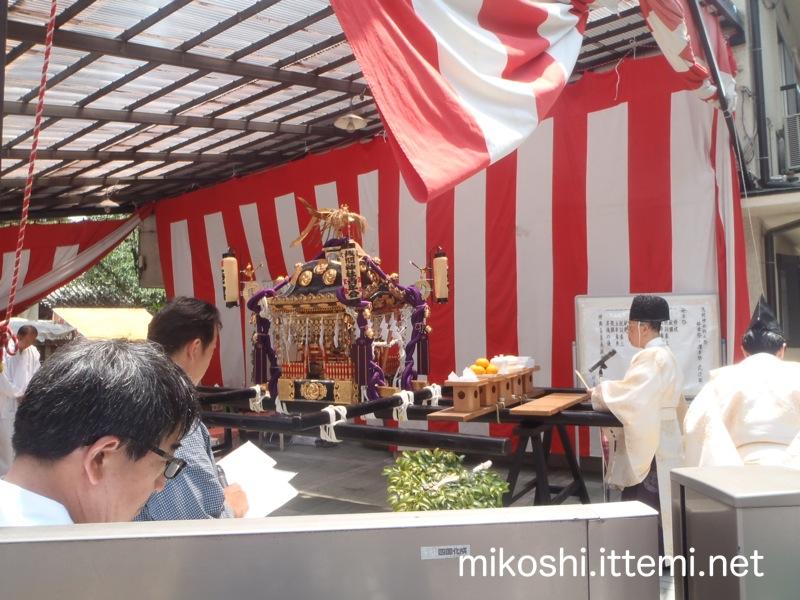 浅間神社例大祭 発幸祭