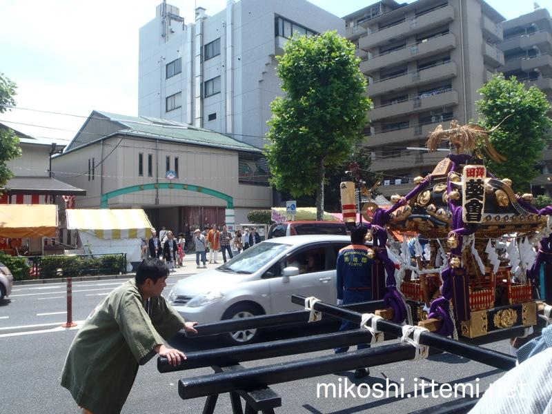 浅間神社例大祭 渡御前