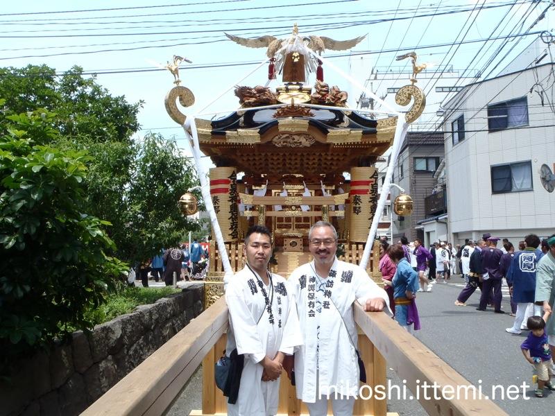 秦野今泉神社の神輿