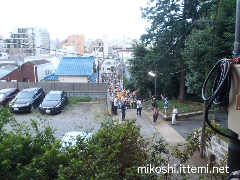 小山八幡神社の階段