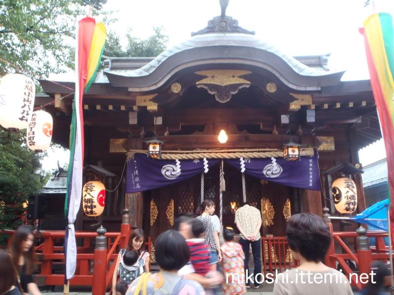 三谷八幡神社の本殿